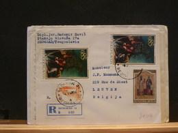81/015  LETTRE DDR POUR LA BELG. 1968 - 1945-1992 République Fédérative Populaire De Yougoslavie