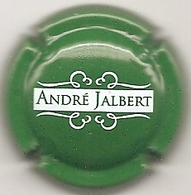 Plaque / Capsule De Muselet  - Cidre André Jalbert - [vert] - Capsules & Plaques De Muselet