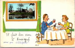 79 ENSIGNE - Carte Souvenir - France