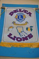 Rare Fanion Lion's Club Courtland - Organisations