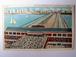 U.S.A. - ILLINOIS - CHICAGO - Promenade Municipal Pier - 1918 - Chicago