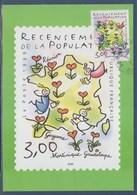 = Recensement De La Population Timbre 3223 Sur Carte émissions Du 1er Semestre 1999 - Altri