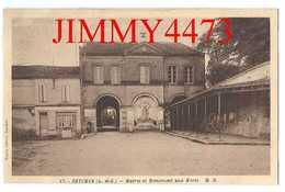CPA - Mairie Et Monument Aux Morts - SEYCHES ( Arr. De Marmande ) 47 Lot Et Garonne - N° 47 - M D - Edit. Marcel Delboy - Marmande