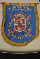Rare Fanion  Juan Carlos I - Organisations