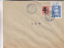 France - Lettre De 1944 - Oblit Poste Spéciale F.F.I. - De Gaulle - Pétain - - France