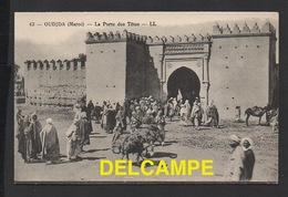 DD / MAROC / OUDJDA / LA PORTE DES TÊTES / ANIMÉE - Maroc