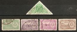 INDIA - BHOPAL OFFICIALS 1941 - 1947 SETS SG O346/O349 FINE USED Cat £13.75 - Bhopal