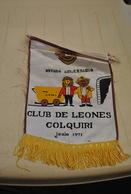 Rare Fanion Lion's Club Colquiri - Organizaciones