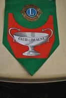 Rare Fanion Lion's Club Beaune - Organisations