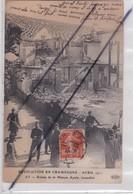 AY (51) Avril 1911 - Ruines De La Maison Ayola , Incendiée / Révolution En Champagne - Ay En Champagne