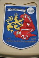 Rare Fanion Lion's Club 103 Sud  Robert De Rivière Gouverneur 1971-1972 - Organizations