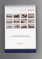 CALENDRIER  AIR  ALGERIE  2011  Avec Des Photos D'avions De La Cie Air Algérie - Calendriers