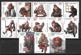 Islande 1999 N°877B/877P  Neufs Noël - 1944-... Republique