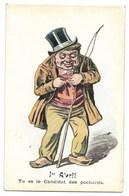 1er AVRIL - Carte Humoristique...  Tu Es Le Candidat Des Pochards... - 1er Avril - Poisson D'avril