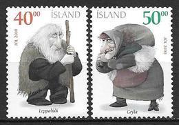 Islande 2000 N°904/905 Neufs** Noël - Neufs