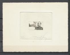 ALGERIE N°306, Laveran, épreuve D'artiste En Noir Signée Sans Inscription X4664 - Algérie (1924-1962)