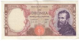 Italy 10000 Lire Michelangelo 27/01/1964 - [ 2] 1946-… : Républic