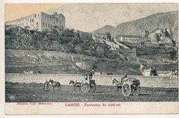 CARINI - PALERMO : PANORAMA DA NORD-EST (SCREPOLATURA) 1910 - Palermo