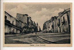 CARINI - PALERMO : CORSO GARIBALDI (TASSATA PER MANCANZA DI FRANCOB.) 1943 - Palermo