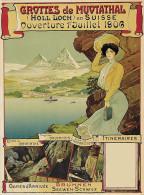 @@@ MAGNET - Grottes Du Muotathal - Publicitaires