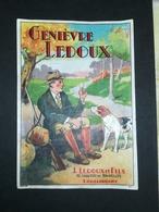 Étiquette Genièvre J. Ledoux & Fils. Lodelinsart (Chaussée De Bruxelles). Format 15x10 - Etiquettes