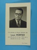 Louis Mortier Binche 1916 1954 - Devotion Images