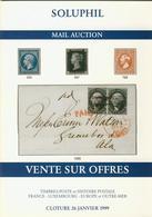 LITPHI - VSO - SOLUPHIL - Ventes N° 86/87/88 - Catalogues De Maisons De Vente