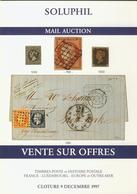 LITPHI - VSO - SOLUPHIL - Ventes N° 83/84/86 - Catalogues De Maisons De Vente
