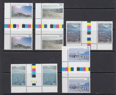 AAT 1985 Scenes 5v Gutter ** Mnh (41437) - Territoire Antarctique Australien (AAT)