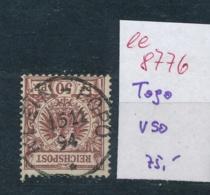 Togo  Nr. V 50   ....  (ee8776  ) Siehe Scan - Kolonie: Togo