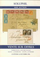LITPHI - VSO - SOLUPHIL - Ventes N° 79/81/82 - Catalogues De Maisons De Vente