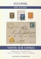 LITPHI - VSO - SOLUPHIL - Ventes N° 76/77/78 - Catalogues De Maisons De Vente