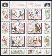DDR 1985 MiNr. 2987/ 2992  ** /mnh ;  Kleinbogen Märchen Der Brüder Grimm - Märchen, Sagen & Legenden