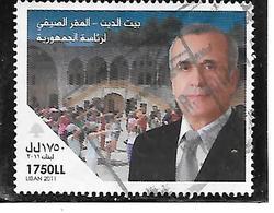 TIMBRE OBLITERE DU LIBAN DE 2011 - Liban