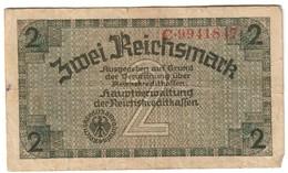 German Occupation Of Europe 2 Reichsmark 1944 - [ 9] Territori Tedeschi Occupati