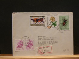81/044 LETTRE POLOGNE - Insects