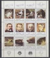 Argentina 1983 Antarctica  12v In Sheetlet ** Mnh (F7614) - Argentinië