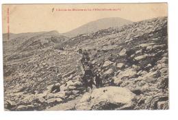 Cpa Du 04- LAC D'ALLOS -L'ARRIVÉE DES MINISTRES - Francia