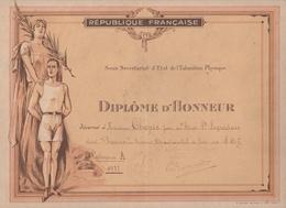 "Sainte-Livrade-sur-Lot - Diplôme Concours Tir ""Stade Ste Livradais"" 1937 - Diplômes & Bulletins Scolaires"