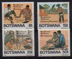 Botswana 1987 MiNr. 392/ 395  ** /mnh ; Schamanen - Botswana (1966-...)