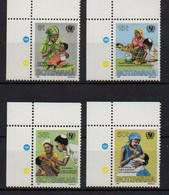 Botswana 1987 MiNr. 399/ 402  ** /mnh ; UNICEF- Kampagne Gegen Kindersterblichkeit - Botswana (1966-...)