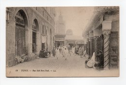 - CPA TUNIS (Tunisie) - Rue Sidi-Ben-Ziad 1918 - Editions Lévy N° 18 - - Tunisie