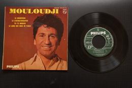 MOULOUDJI LE DESERTEUR EP 1964 2 TITRES DE BORIS VIAN   VARIANTE - 45 T - Maxi-Single