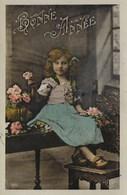 Carte Postale. Bonne Année. Enfant. Fille - New Year