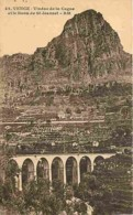 06 - Vence - Viaduc De La Cagne Et Le Baou De Saint Jeannet - Voir Scans Recto-Verso - Vence