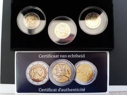 Coffret 2€ Estonie 2011 - Lettonie 2014 - Lituanie 2015 + Certificat - EURO