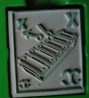 Tampon Bois, Xylophone, Instrument Musique - Lettre Alphabet X - Dessin Pour Enfant, Illustration, Coloriage - Loisirs Créatifs