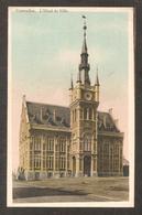 -Belgique - Courcelles - L'Hôtel De Ville ( écrite En 1919 ) - Courcelles