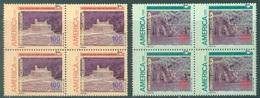 ECUADOR - MNH/** - 1991 - UPAE - Yv 1220-1221 -  Lot 18450 - IN BLOC OF 4 - Equateur