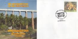 India 2018  Bridges  Mathur Aqueduct / Hanging Trough  Sangampex  Madurai   Special Cover  #  15831  D  Inde Indien - Bridges